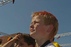 27.06.2010, Ritzheimer Platz, Lohne , GER, FIFA WM 2010, Germany (GER ) vs England (GB)., im  Bild  Fan Meile Lohne  EXPA Pictures © 2010, PhotoCredit: EXPA/ nph/  Kokenge / SPORTIDA PHOTO AGENCY