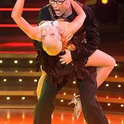 NLD/Baarn/20070331 - 1e Live uitzending Dancing with the Stars 2007, Bart Chabot en danspartner Kimberly Smith