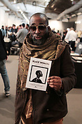 April 8, 2018-New York, New York-United States: Photographer Russell Frederick, Vice President, Kamoinge attends the Photography Show presented by AIPAD held at Pier 94 on April 8, 2018 in New York City. The Photography Show, held at Pier 94, is the longest-running and foremost exhibition dedicated to the photographic medium, offering contemporary, modern, and 19th century photographs as wells photo-based art, video and new media.(Photo by Terrence Jennings/terrencejennings.com)