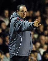 Photo: Glyn Thomas.<br />Birmingham City v Liverpool. The FA Cup. 21/03/2006.<br /> Liverpool manager Rafael Benitez.