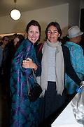 VALERIA NAPOLEONE; CORNELIA GRASSI, Hannah RickardÕs exhibition; No, there was no red.9. MaxMara Prize for Women, in collaboration with the Whitehachapel Gallery. Whitechapel. London.  September 2009.<br /> VALERIA NAPOLEONE; CORNELIA GRASSI, Hannah Rickard?s exhibition; No, there was no red.9. MaxMara Prize for Women, in collaboration with the Whitehachapel Gallery. Whitechapel. London.  September 2009.
