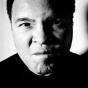 Portrait of Muhammed Ali.  Photographed in 1997 in Atlanta, GA for Spin Magazine