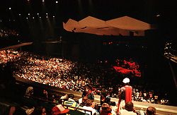 Interior of the Venue during break at The Grateful Dead Concert at the Saratoga Performing Arts Center, 24 June 1984