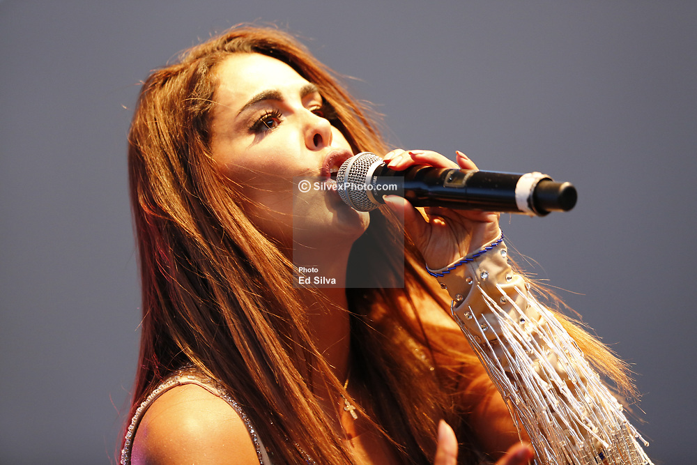 SANTA ANA, CA - MAY 7   Mexican singer Ninel Conde performs on stage in downtown Santa Ana during the city's 18th Annual Cinco de Mayo Fiesta. 2017 May 7.  Byline, credit, TV usage, web usage or link back must read SILVEXPHOTO.COM. Failure to byline correctly will incur double the agreed fee. Tel: +1 714 504 6870.