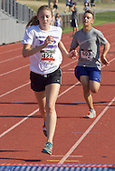Central Valley, New York - Melissa Ganz finishes the Woodbury Country Ramble race on Aug. 26, 2012.