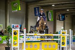 De Plecker Vic, BEL, Orchid's Diva<br /> Nationaal Indoor Kampioenschap Pony's LRV <br /> Oud Heverlee 2019<br /> © Hippo Foto - Dirk Caremans<br /> 09/03/2019