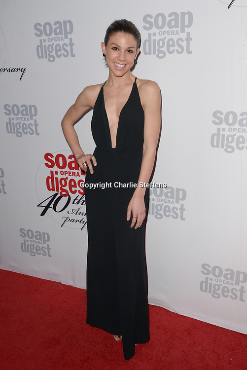 KATE MANSI at Soap Opera Digest's 40th Anniversary party at The Argyle Hollywood in Los Angeles, California