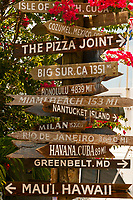 Sign, Hogfish Bar & Grill, Stock Island, Key West, Florida Keys, Florida USA