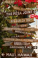 Sign, Hogfish Bar & Grill, Stock Island, Key West, Florida Keys, Florida USA