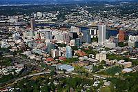Southwestern View of Portland Skyline