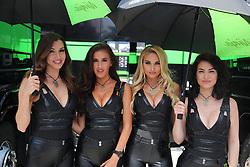 July 8, 2018 - Misano, Italy, Italy - Grid Girls during the Motul FIM Superbike Championship - Italian Round  Sunday race during the World Superbikes - Circuit PIRELLI Riviera di Rimini Round, 6 - 8 July 2018 on Misano, Italy. (Credit Image: © Fabio Averna/NurPhoto via ZUMA Press)