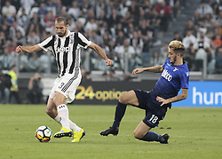 October 14, 2017 - Turin, Italy - Giorgio Chiellini during Serie A match between Juventus v Lazio, in Turin, on october 14, 2017  (Credit Image: © Loris Roselli/NurPhoto via ZUMA Press)