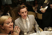 Eddie Redmayne, Natalia Vodianova and Elle Macpherson host a dinner in honor of Francisco Costa (creative Director for women) and Italo Zucchelli (creative director for men)  of Calvin Klein. Locanda Locatelli, 8 Seymour St. London W1. ONE TIME USE ONLY - DO NOT ARCHIVE  © Copyright Photograph by Dafydd Jones 66 Stockwell Park Rd. London SW9 0DA Tel 020 7733 0108 www.dafjones.com