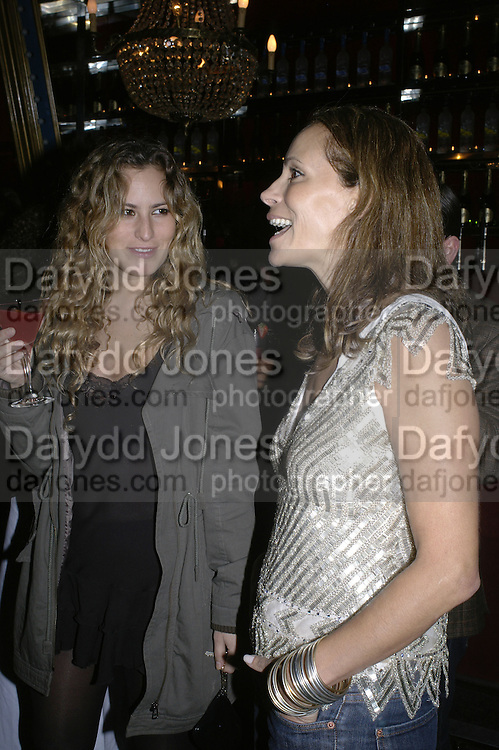 Charlotte Dellal and Andrea Dellal, MOVE FOR AIDS HOSTED BY ELLE MACPHERSON & DAVID FURNISH. Koko, Camden High St. London. 7/11/06. ONE TIME USE ONLY - DO NOT ARCHIVE  © Copyright Photograph by Dafydd Jones 66 Stockwell Park Rd. London SW9 0DA Tel 020 7733 0108 www.dafjones.com