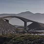 Three weeks aboard the Kong Harald. Hurtigruten, the Coastal Express. The Atlantic road, atlanterhavsveien.