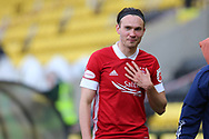 Aberdeen's Ryan Hedges (11) during the Scottish Premiership match between Livingston and Aberdeen at Tony Macaroni Arena, Livingstone, Scotland on 1 May 2021.