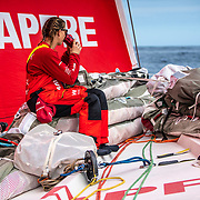 Leg 9, from Newport to Cardiff, day 07 on board MAPFRE, Sophie Ciszek. 26 May, 2018.