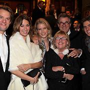 NLD/Amsterdam/20081104 - Première James Bond film Quantum of Solace, familie Krabbe, Jakob en partner, Jasper en partner, Jeroen Krabbe en partner Herma
