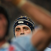 Dean Mumm during the Super14 match between the New South Wales Waratahs and Queensland Reds at the Sydney Football Stadium, Sydney, Australia on March 6, 2009. The Waratah's won the match 15-11. Photo by Tim Clayton.