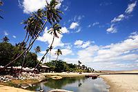 beautiful fisherman village of Jericoacoara in Ceara state Brazil