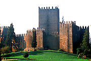 PORTUGAL, NORTH, MINHO AREA Guimaraes, first capital of the nation; attractive walled city with castle, seat of the first Portuguese court