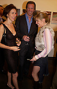 Nori Starck, Chris Getty and Brooke de Campo, Matthew Mellon celebrates Famous Feet, Hamiltons Gallery. 22 November 2004. SUPPLIED FOR ONE-TIME USE ONLY> DO NOT ARCHIVE. © Copyright Photograph by Dafydd Jones 66 Stockwell Park Rd. London SW9 0DA Tel 020 7733 0108 www.dafjones.com