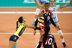 Winifer Maria Fernandez Perez of Dominican Republic during the volleyball match between National team of Slovenia and Dominican Republic in Preliminary Round of Womens U23 World Championship 2017, on September 11, 2017 in SRC Stozice, Ljubljana, Slovenia. Photo by Morgan Kristan / Sportida