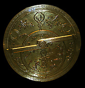Astrolabe about AD 1345 - 1355 An astrolabe is an astronomical instrument that enables the user to determine the time during the day with the help of the sun, and at night with the help of the stars. It can also be used in the preparation of horoscopes and for surveying purposes – to name but a few of its functions.