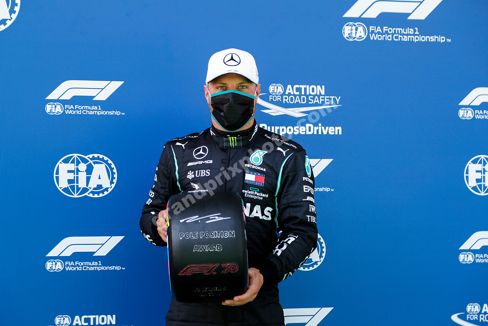 Valtteri Bottas (Mercedes) after qualifying for the 2020 Austrian Grand Prix at the Red Bull Ring in Spielberg.  © Copyright: FIA Pool Image for Editorial Use Only