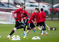 CARDIFF, WALES - Tuesday, March 23, 2021: Wales' captain Gareth Bale during a training session at the Vale Resort ahead of the FIFA World Cup Qatar 2022 Qualifying game against Belgium. (Pic by David Rawcliffe/Propaganda)