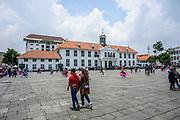 Jakarta, officially the Special Capital Region of Jakarta (Indonesian: Daerah Khusus Ibukota Jakarta), is the capital and largest city of Indonesia<br /> <br /> On the Photo: Jakarta History Museum