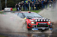 Esapekka Lappi(FIN)and Co/Driver Janne(FIN)Citroen C3 WRC during the Wales Rally GB at Oulton Park, Budworth, Cheshire, United Kingdom on 3 October 2019.