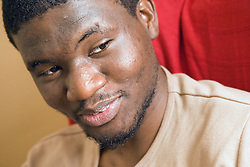 University student; smiling,