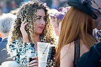 Grand National Meeting - Ladies' Day<br /> e.g. of caption:<br /> National Hunt Horse Racing - 2017 Randox Grand National Festival - Friday, Day Two [Ladies' Day]<br /> <br />   <br /> female racegoers before  the 6th race 16.40 Doom Bar Sefton Novices' Hurdle (Grade 1) (Class 1) 3m 149y, Good 11 Runners.at Aintree Racecourse.<br /> <br /> COLORSPORT/WINSTON BYNORTH