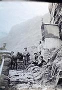 mountain hiking 1930s