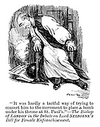 """""""It was hardly a tactful way of trying to convert him to the movement to place a bomb under his throne at St Paul's.""""?The bishop of London in the debate on Lord Selborne's bill for female enfranchisement."""