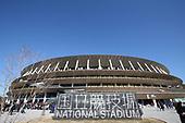 Olympics-National Stadium views-Jan 1, 2020