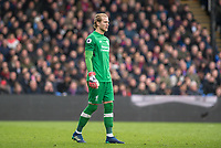 LONDON, ENGLAND - MARCH 31: (1) Loris Karius of Liverpool  during the Premier League match between Crystal Palace and Liverpool at Selhurst Park on March 31, 2018 in London, England.