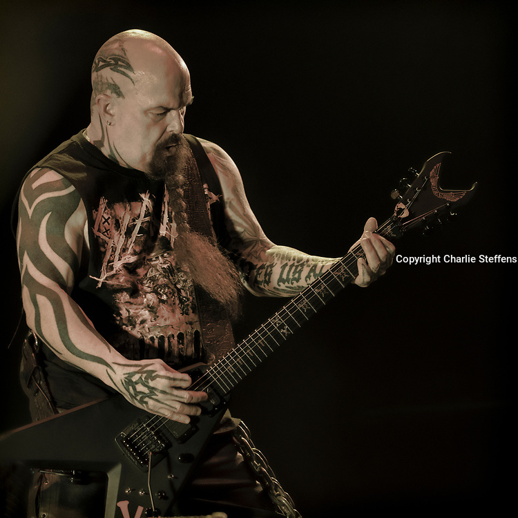Kerry King of Slayer performs on November 30, 2019 at The Forum in Los Angeles, California