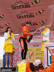 21.05.2011, Monte Zoncolan, ITA, Giro d´ Italia 2011, 14. Etappe, Lienz - Monte Zoncolan, im Bild Igor Anton (ESP) Euskaltel Euskadi // Igor Anton (ESP) Euskaltel Euskadi during the Giro d´ Italia 2011, Stage 14, Lienz - Monte Zoncolan, Italy, 2011-05-21, EXPA Pictures © 2011, PhotoCredit: EXPA/ J. Feichter