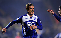 Fotball<br /> England<br /> Foto: Fotosports/Digitalsport<br /> NORWAY ONLY<br /> <br /> Barry Ferguson Celebrates Scoring 1st goal with team mate Liam Ridgewell<br /> Birmingham City 2009/10<br /> Birmingham City V Nottingham Forest 12/01/10<br /> The FA Cup 3rd Round Replay