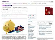 Chocolate Coins / Guardian.co.uk / December 2008