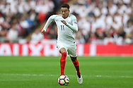 Jesse Lingard of England in action. FIFA World cup qualifying match, european group F, England v Malta at Wembley Stadium in London on Saturday 8th October 2016.<br /> pic by John Patrick Fletcher, Andrew Orchard sports photography.