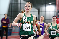womens 1000 meters, 3, UAB, Karlee Stortz<br /> Boston University Scarlet and White<br /> Indoor Track & Field, Bruce LeHane