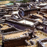 Marpha, an ancient trading village on Kali Gandaki salt trail, Anapurna region, Nepal.