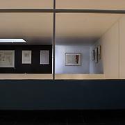 Paris, France, 2004: Second floor, Maison La Roche Jeanneret (1923) at 8-10 square Doctor Blanche - Le Corbusier arch - . Photographs by Alejandro Sala,