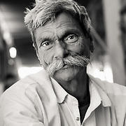 Portrait of Rajasthani man