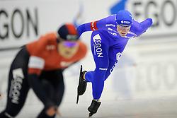 2009 SCHAATSEN: NK AFSTANDEN: HEERENVEEN<br /> Rosa Pater op de 1000 meter<br /> ©2009-WWW.FOTOHOOGENDOORN.NL