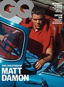 September 08, 2021 - USA: Matt Damon Covers GQ Magazine October Issue