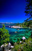 Emerald Bay, Lake Tahoe, California USA